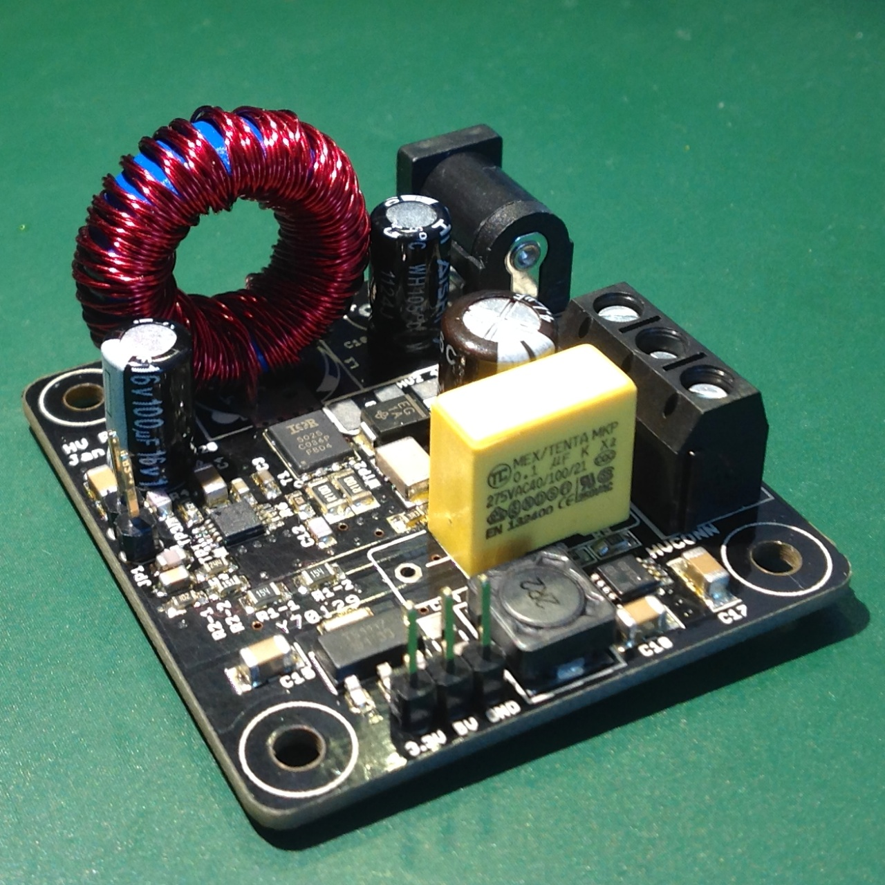 High Voltage Power Supply For Nixie Tube Projects Volt Schematic